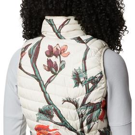 Columbia Powder Lite bodywarmer Dames, chalk botanica print